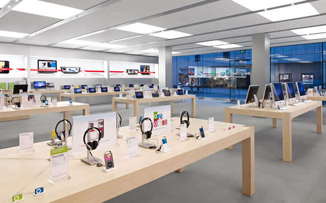 r ckblick auf die apple store er ffnung. Black Bedroom Furniture Sets. Home Design Ideas